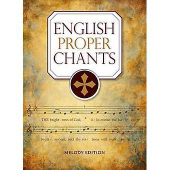 English Proper Chants (Melody ed) by John Ainslie - 9780814648100 Book