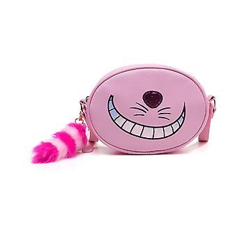 Disney Alice in Wonderland Cheshire Cat Shaped Shoulder Bag - Pink (LB682880AIW)