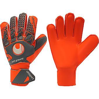 UHLSPORT AERORED SOFT PRO JUNIOR Goalkeeper Gloves
