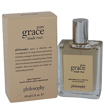 Amazing Grace Nude Rose by Philosophy Eau De Toilette Spray 2 oz / 60 ml (Women)