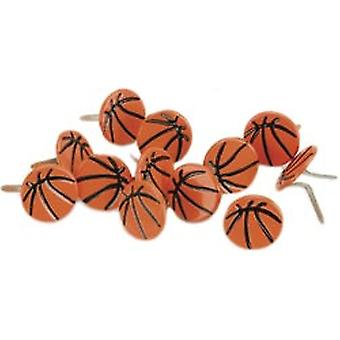 Eyelet Outlet Brads Basketball 12 Pkg Qbrd 518