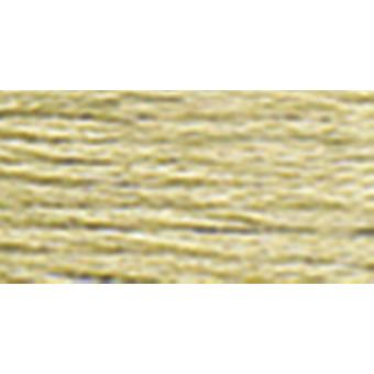 Dmc Six Strand Embroidery Cotton 100 Gram Cone Drab Brown Very Light 5214 613