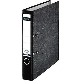 Leitz 180° Classic Marbled 10501095 DIN A4 Lever Arch Folder 52mm Width, Black