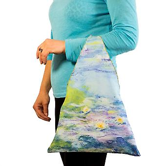 Tote bag motif art water lilies Claude Monet