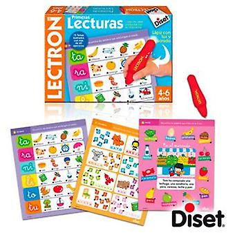 Diset Lectron First Reading (Toys , Educative And Creative , Vocabulary)