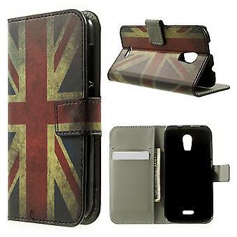 UK flag leather PU cover for Kiritkumar Darkmoon