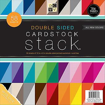 DCWV Cardstock Stack Double-Sided 12