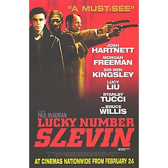 Lucky Number Slevin filmposter (11 x 17)