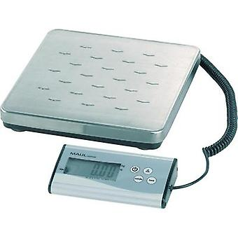 Parcel scales Maul 17997 09 Weight range 120 kg Readability 50 g battery-powered Silver
