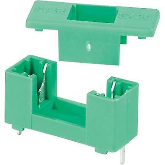 Fuse holder Suitable for Micro fuse 5 x 20 mm 6.3 A 250 Vac ESKA 506.000 1 pc(s)