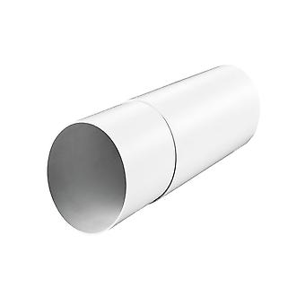 Round telescopic duct for energy-saving ventilation system TwinFresh
