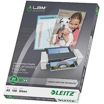 Laminate sheet Leitz DIN A5 80 micron glossy 100 pc(s)