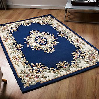 Rugs -Mahal Aubusson - Blue