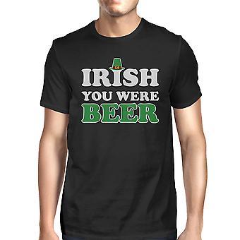 Ierse u waren Ierse hemd voor bier mannen zwart T-shirt Gag