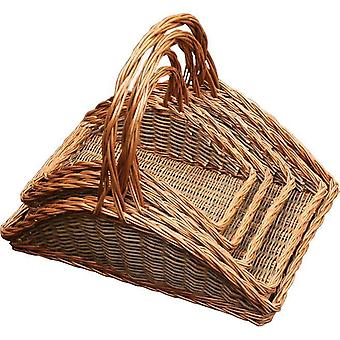 Set of 5 Fireside Log Baskets