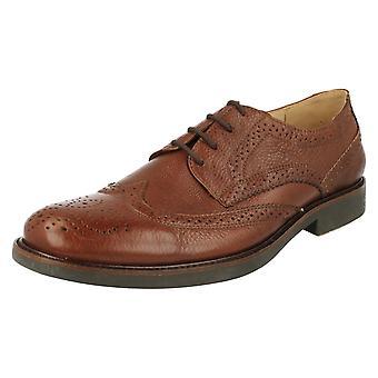 Mens Anatomic Smart Brogue Styled Shoes Palma