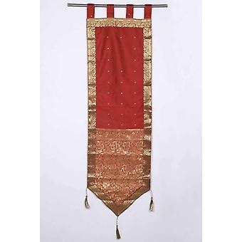 Ruggine - Handmade Wall hanging Wall Decor arazzo con nappine