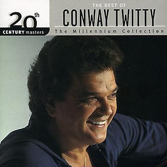 Conway Twitty - Millennium Collection-20th Century Masters [CD] USA import