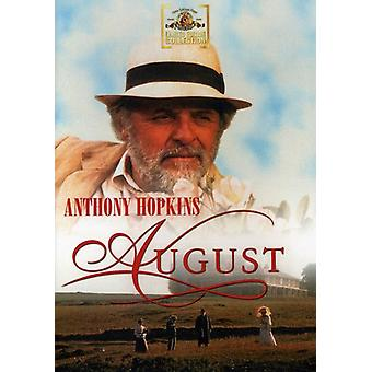 August [DVD] USA import