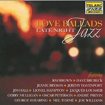 Love Ballads - Late Night Jazz [CD] USA import