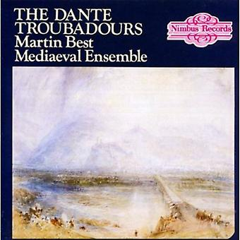 Martin Best Ensemble - Dante troubadourer [CD] USA importerer