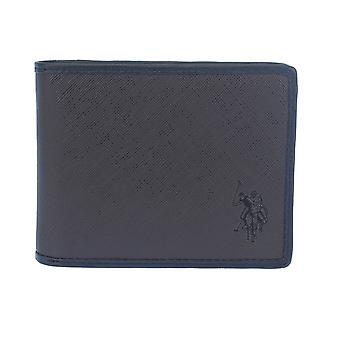U.S. POLO ASSN. Men's wallet x2x10 12.5 cm