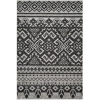 Rustik sort & sølv Adirondack tæppe - Safavieh