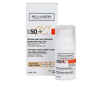 CC de crème anti-manchas tono claro SPF50 +