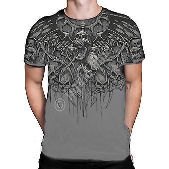 Liquid Blue - CRYPT CALLER - Short Sleeve T-Shirt .
