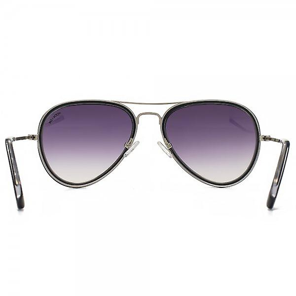 Hook LDN Supersonic Sunglasses In Black On Clear