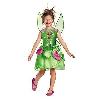 Tinker Bell Tinkerbell Fairy Classic Fairytale Disney Girls Costume