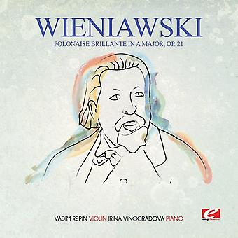 Wieniawski - Polonaise Brillante in a Major Op. 21 [CD] USA import