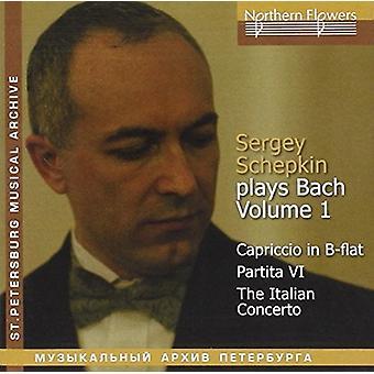 Schepkin - Bach klaver - Vol.1: Italiensk koncert Cap [CD] USA import