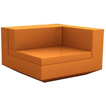 Vondom Vela Sofa Resteve left Lacquered Orange 54077F