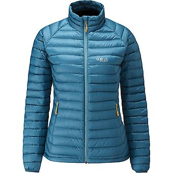 Rab Womens Microlight Jacket Blazon/Seaglass (Size UK 10)