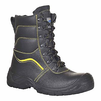 Portwest - Steelite Fur Lined Protector Workwear Ankle Boot S3 CI