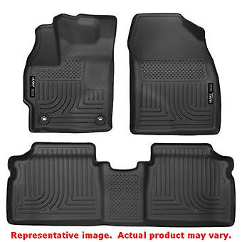 Husky Liners 99511 Black WeatherBeater Front & 2nd Seat FITS:TOYOTA 2015 - 2015