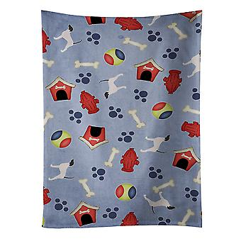 English Pointer Dog House Collection Kitchen Towel