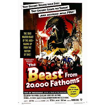 The Beast from 20000 Fathoms Movie Poster (11 x 17)