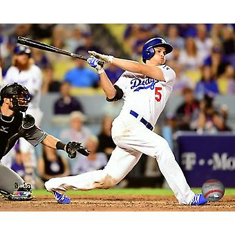 Corey Seager Triple Game 1 of the 2017 National League Division Series Photo Print