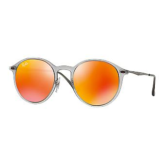 Sunglasses Ray - Ban Round Light Ray RB4224 650 / Q 6, 49