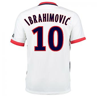 2015-16 PSG Nike (Ibrahimovic 10) Kit di distanza