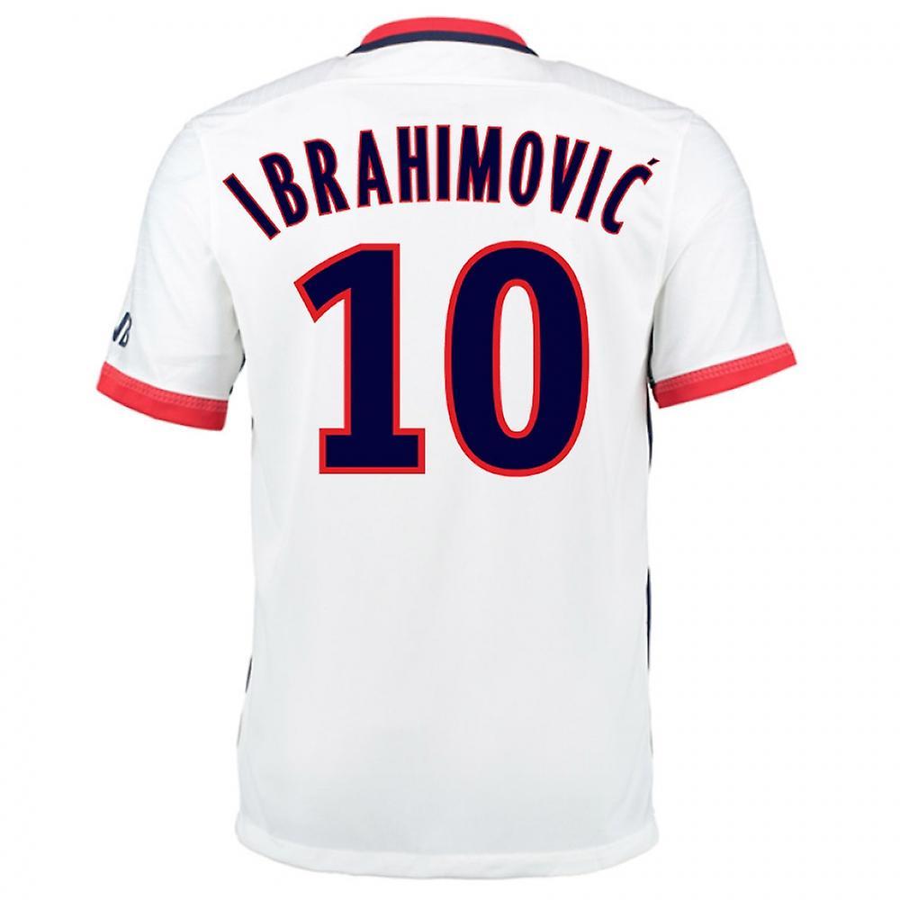2015-16 PSG Nike Away Kit (Ibrahimovic 10)