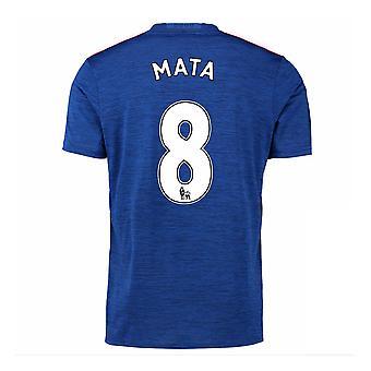 2016-17 Manchester United maglia Away (Mata 8) - bambini