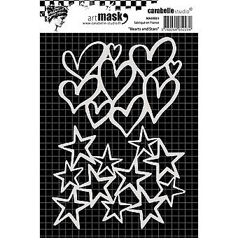 Carabelle Studio Mask A6-Hearts And Stars MA60061