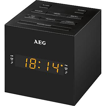 AEG Clock Radio with USB for charging mobile MRC 4150 black