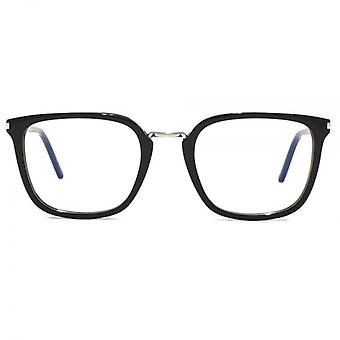 Saint Laurent SL 131 Combi Glasses In Black Silver