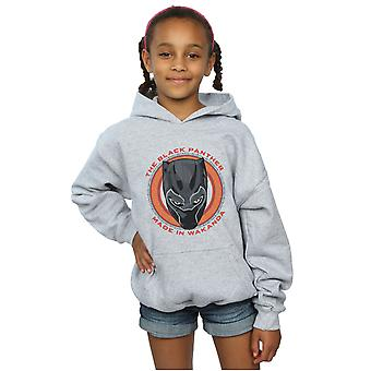 Marvel Mädchen Black Panther Made in Wakanda rot Hoodie