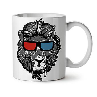 Lion Swag Cool Animal NEW White Tea Coffee Ceramic Mug 11 oz | Wellcoda