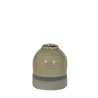 Light & Living Pot Deco Ø17,5x20,5 Cm TARCOLEZ Green+grey